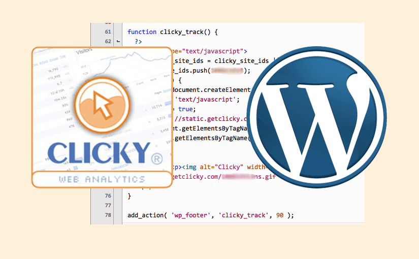 Clicky-Trackingcode in WordPress einfügen