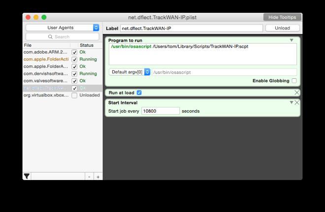 Screenshot, LaunchControl