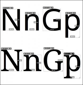 Metrics: Noto Sans / Noto Serif