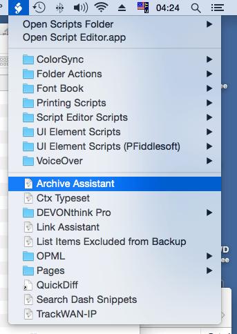Archive Assistant (Script) – dFlect